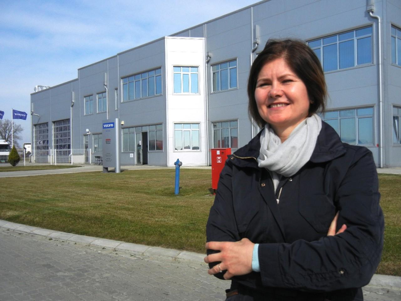 Snježana Suručić, Human Resources Director at Volvo Trucks Adriatic South.