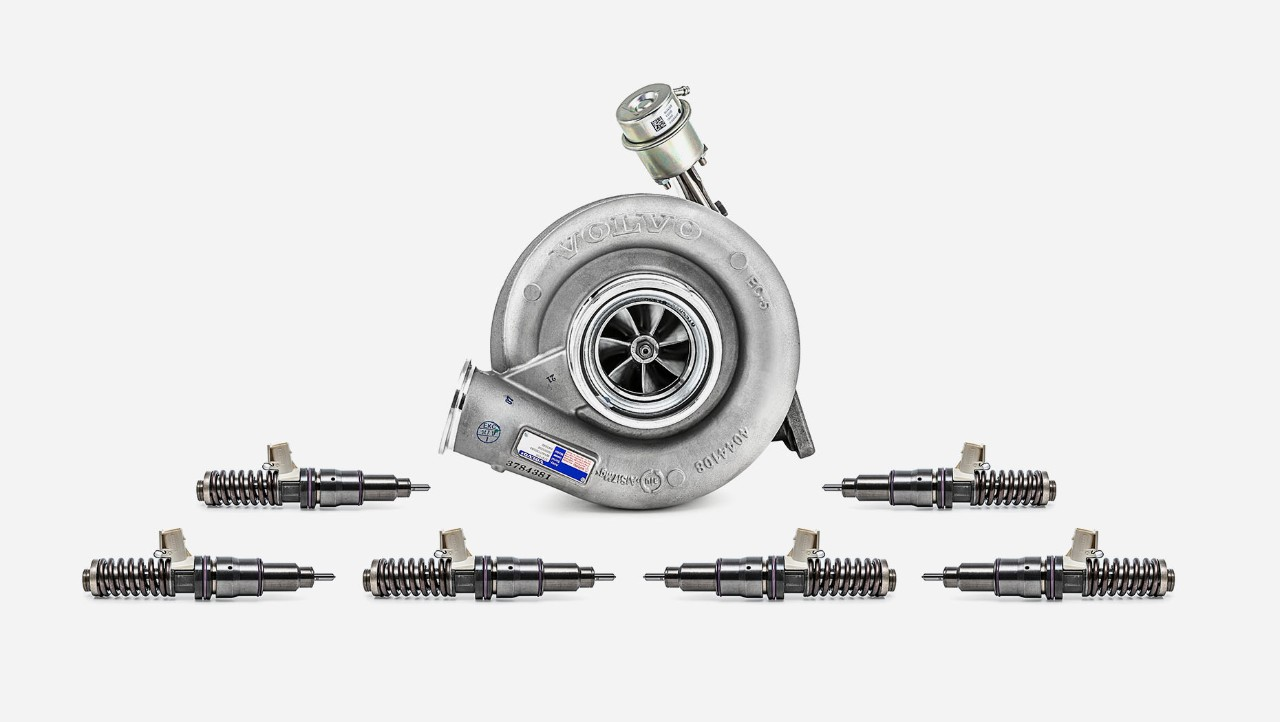 Dodatni komplet za pregled remonta motora za Volvo kamione